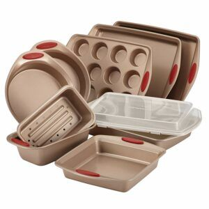 Free Shipping Rachael Ray 10 Piece Bakeware Set
