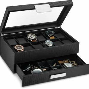 Unique Men Watch Box