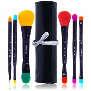 SHANY 6 Piece Double Sided Travel Brush Set
