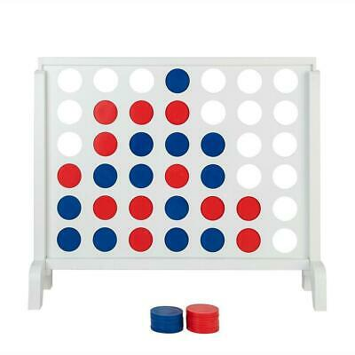 Giant 4 in a Row Board Game For Adults Kids Family Yard Activity Indoor Outdoor
