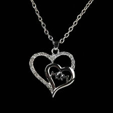 New Mothers Day Present Gift Crystal Mom Pendant Necklace Decor Women Jewelry US