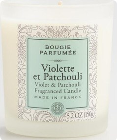 Violet And Patchouli Bougie Parfumee Filled Jar Candle