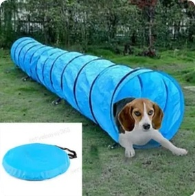 Pet Dog Agility Obedience Training Tunnel Pet Channel Dog Outdoor Games Agility Exercise Obedience