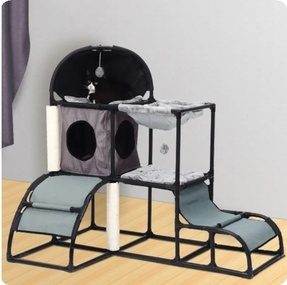Pet Cat Tree Play House