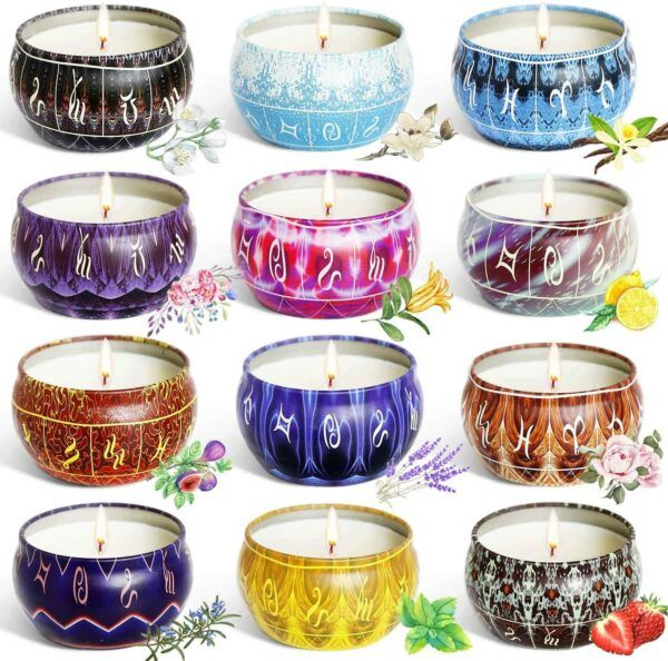 Stress Relief Scented Candle Set