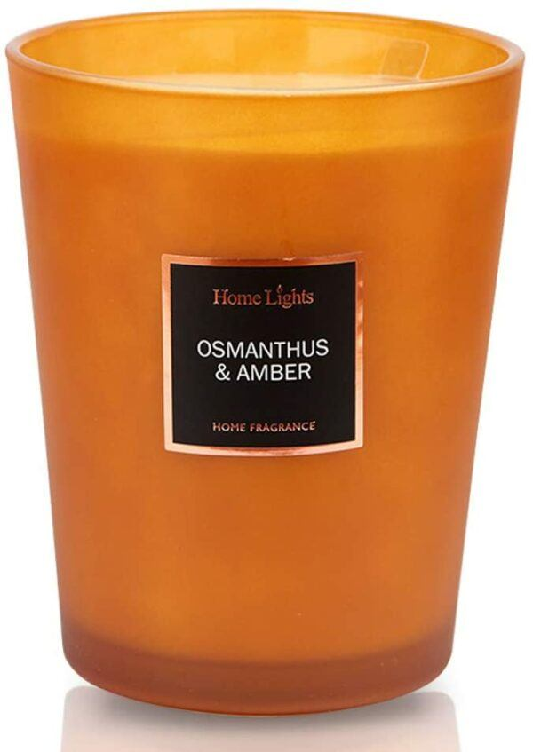 HomeLights Scented Candles-Osmanthus and Amber
