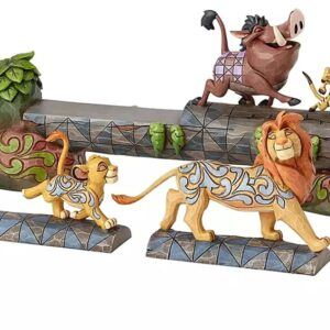 The Lion King ''Carefree Camaraderie'' Figurine
