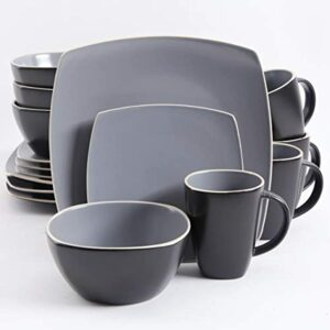Gibson Gray Dinnerware Set