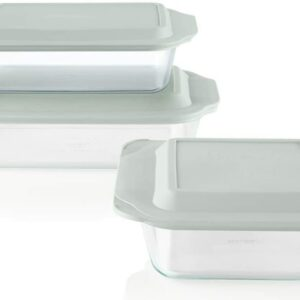 Pyrex Deep Baking Dish Set