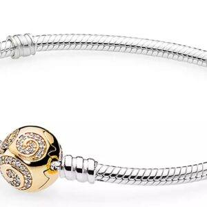 Mickey Mouse Golden Swirl Bracelet