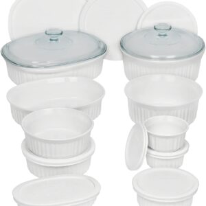 CorningWare French White Bakeware Set