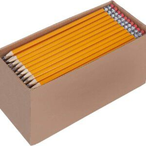 Pre-sharpened Wood Cased #2 HB Pencils, 150 Pack