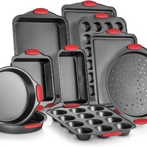 Perlli 10-Piece Nonstick Carbon Steel Bakeware Set