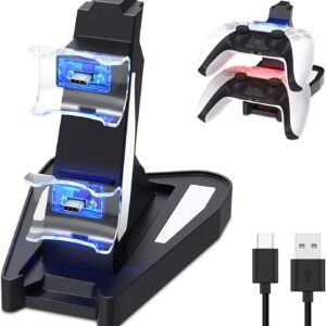 Dual Charge PS5 Controller Charger